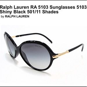 Ralph Lauren Black Sunglasses